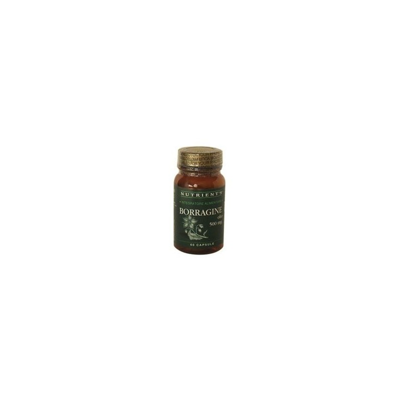 Borragine olio 500 mg. 60 caps