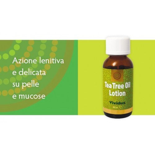 VIVIDUS - TEA TREE OIL LOTION 50 ml.