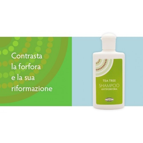 VIVIDUS - TEA TREE SHAMPOO ANTIFORFORA 200 ml.