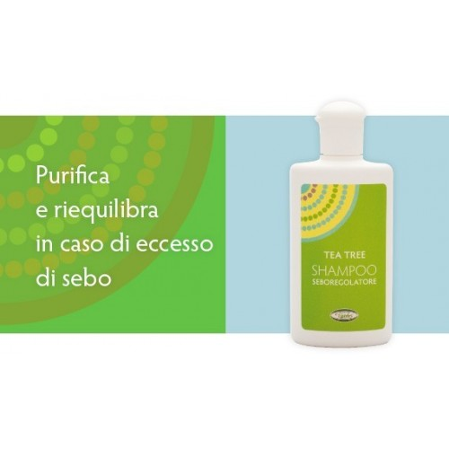 VIVIDUS - TEA TREE SHAMPOO SEBOREGOLATORE 200 ml.
