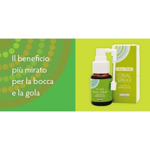 VIVIDUS - TEA TREE SPRAY GOLA 30 ml.