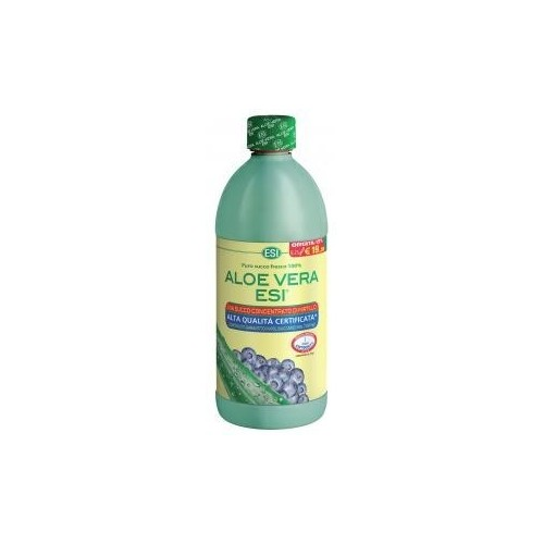 ESI - Aloe Vera Succo al Mirtillo 1000 ml.