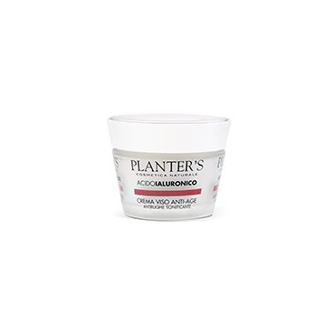 PLANTER'S - Crema Viso Acido Ialuronico Antirughe Tonificante 50 ml