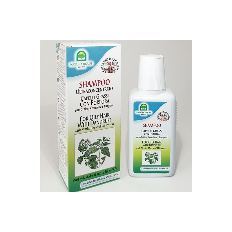 NATURA HOUSE - Shampoo capelli grassi con forfora 250 ml