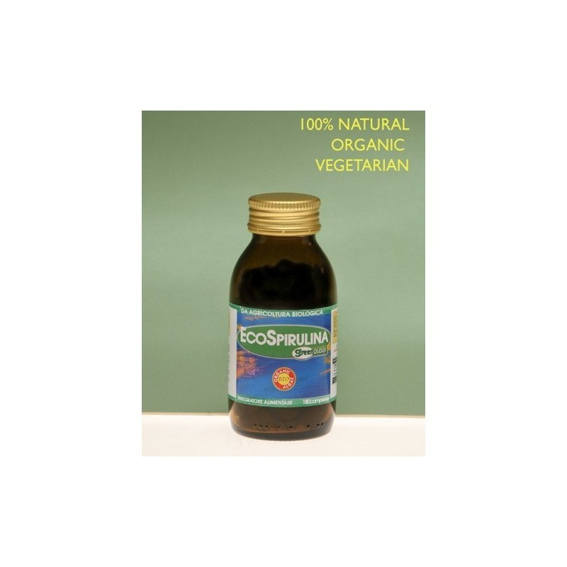 Greenology EcoSpirulina 180 cpr.
