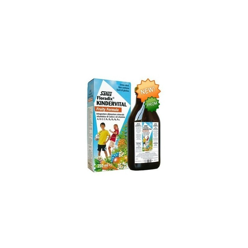 Salus Kindervital Fruity 250 ml.