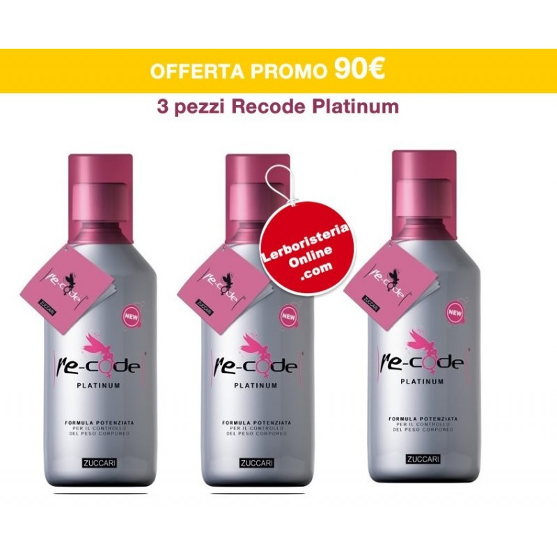 ZUCCARI - 3 Pack Recode Platinum 3 x 500 ml