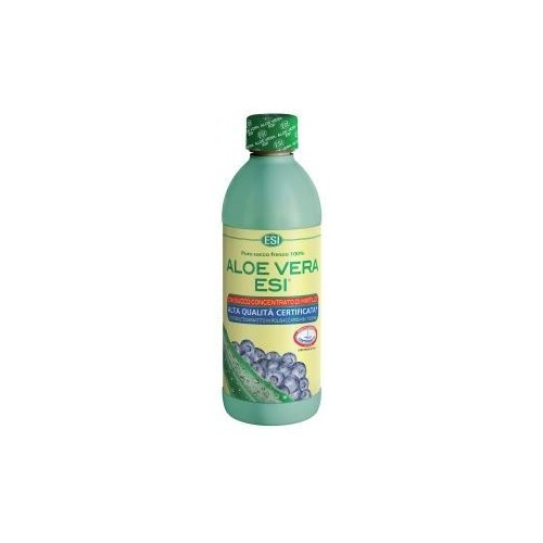 ESI - Aloe Vera Succo al Mirtillo 500 ml.