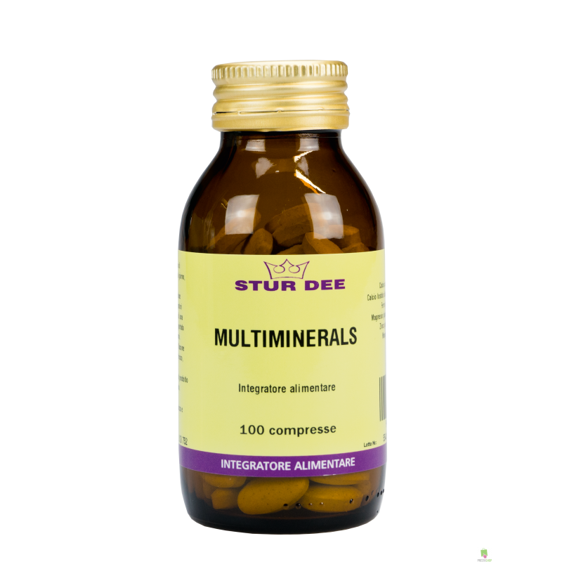 STUR DEE - MULTIMINERALS 100 cpr.
