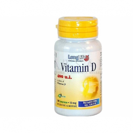 LONGLIFE - Vitamina D 100 compresse