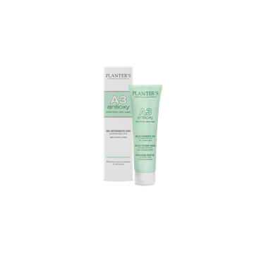 PLANTER'S - A3 Antioxy Gel detergente viso - schiuma delicata 150 ml