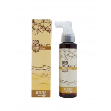 AESSERE - Oro Colloidale Plus spray 20 ppm 100 ml