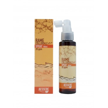 AESSERE - Rame Colloidale Plus spray 20 ppm 100 ml