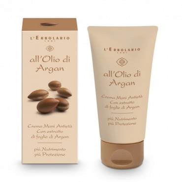 L'ERBOLARIO - Crema mani antietà all'olio di Argan 75 ml