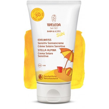 WELEDA - Stella Alpina Crema solare Sensitive SPF 30 150 ml