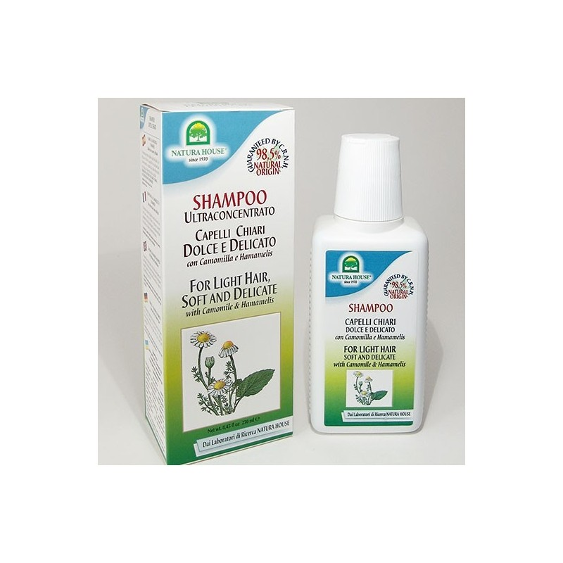 NATURA HOUSE - Shampoo capelli chiari 250 ml.