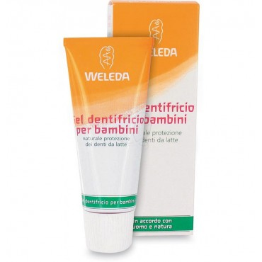 WELEDA - Gel dentifricio per bambini 50 ml.