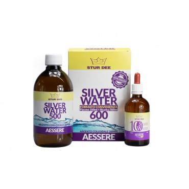 Silver Water 600