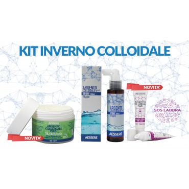 Kit Inverno Argento Colloidale
