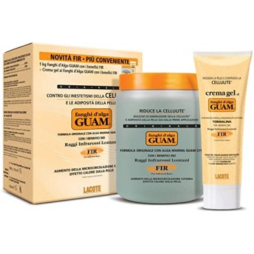 GUAM - CONF. CONVENIENZA FANGHI 1 Kg.+ 1 GEL 250 ml. FIR